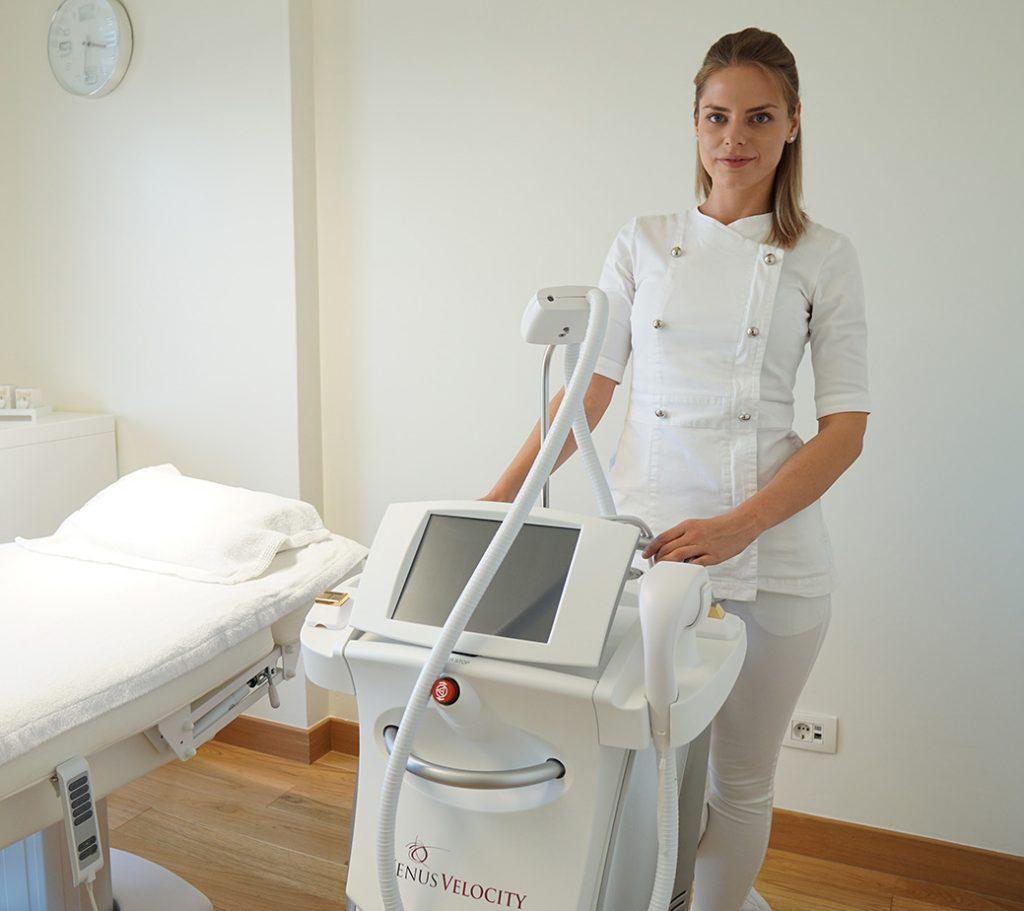Venus Velocity laser za trajnu epilaciju